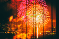 75th Birthday Golden Gate Bridge (Thomas Hawk) Tags: 75thbirthdaygoldengatebridge america batteryspencer california goldengatebridge marin marinheadlands sanfrancisco usa unitedstates unitedstatesofamerica bridge fireworks millvalley us fav10 fav25 fav50