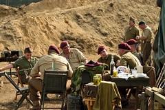 DSC_6208 (Mark Morello) Tags: collingsfoundation hudsonma battlefortheairfield encampment reenactment wwii worldwar2 german american british russian at6 pt17 texan stearman tanks german88 battle hudson massachusetts usa