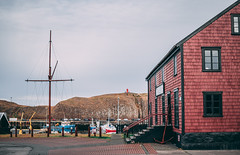 DSC_0680 (claudiacolby) Tags: iceland westfjords northwesticeland travel landscape sunset sky mountain volcano waterfall stykkisholmur harbour oldharbour port traditional landscapephotography nikon 35mm