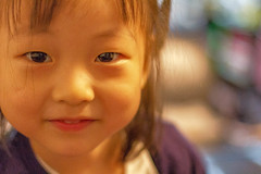 Carrie (Robert Borden) Tags: girl child smile people chinese shanghai puxi china asia canon 50mm canonphotos canonchina