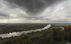 clouds over Straubing (lichtauf35) Tags: landscape donau clouds gnd wideangle autumn2017 light travelpics bogenberg derzeitaugenblickestehlen darkclouds sky river lichtauf35