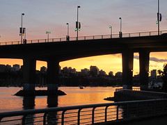 IMG_4248  Cambie Bridge (vancouverbyte) Tags: vancouver vancouverbc vancouvercity cambiebridge falsecreek