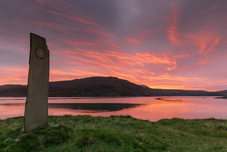 A Kyle of Durness Sunset ..