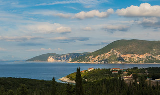 Ithaca (view from  Fiskardo - Northern Kefelonia - Greece ( Panasonic Lumix Lx15 compact) (1 of 1)