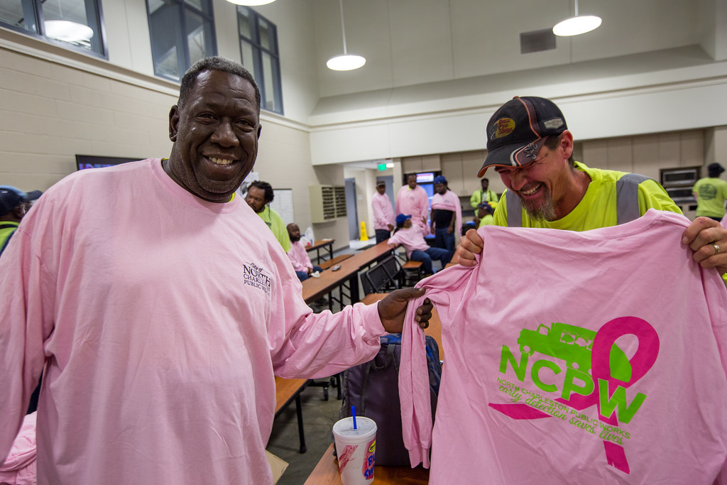 Breast Cancer Awareness Month by North Charleston, on Flickr