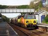 70808 Liskeard (18) (Marky7890) Tags: colasrail 6c36 class70 70808 liskeard cornishmainline freight cornwall train