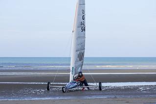 Land sailing - zeilwagens