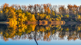 Autumn at the lake...