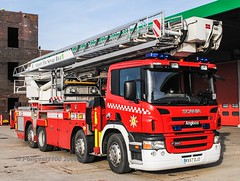 BAA Heathrow Scania ALP RX57 DJD (policest1100) Tags: baa heathrow scania alp rx57 djd