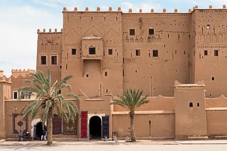 Building in Ouarzazate, Morocco