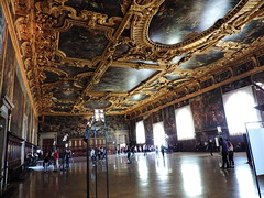 Chamber of the Great Council (Sala del Maggior Consiglio), Doge's Palace (Palazzo Ducale), Venice