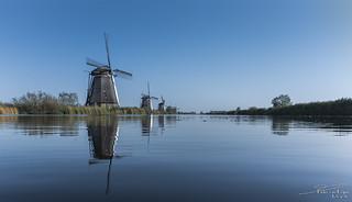 Windmill Overwaard No. 4, Kinderdijk