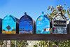 #10-#13 (skipmoore) Tags: sausalito napastgalileeharbor mailbox mailboes handpainted