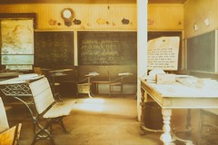 School house (cb|dg photo) Tags: interior classroom schoolhouse wildwest west oldwest monocounty mono mining goldrush ghosttown easternsierra california bodiestatehistoricpark bodieshp bodie abandoned