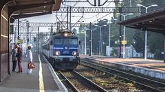 EP07-1019 (kamil_olszowy) Tags: ep071019 ex eu07521 hcp cgielski 303e pkp intercity tlk ustronie stacja koszalin poland train