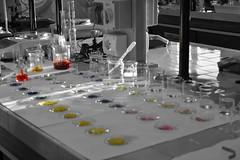 Laboratory 3 - PH scale (marcomedinas_3) Tags: colors d3100 naturalcolor nofiltrer blackandwhite laboratory nikkor