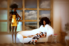 just a little bored ... (photos4dreams) Tags: dolls22102017p4d thefunkygirlsp4d barbie mattel doll toy diorama photos4dreams p4d photos4dreamz barbies girl play fashion fashionistas outfit kleider mode puppenstube tabletopphotography aa beauties beautiful girls women ladies damen weiblich female funky afroamerican afro schnitt hair haare afrolook darkskin africanamerican canoneos5dmark3