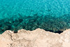 Water and Rock (Wholesale of Void) Tags: formentera spain balearicislands islasbaleares sea mar sand arena autumn fall otoño sol sun sunny blue yellow resort beach water agua polarizingfilter calasaona