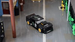 Gymkhana 7 (by primozm) Tags: primozm lego layout diorama ken blocks gymkhana 7 seven hoonicorn rtr mustang ford donuts power functions pf turning remote control speed champions scale video