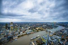 London Skyline from the Shard. (Mattia Bonavida) Tags: london theshard landscape cityscape colours travel autmn londra nikon nikonclub nikonflickraward nikonitalia nikoneurope nikkor river thames