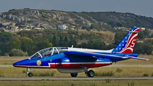 Dassault-Breguet/Dornier Alpha Jet E / Patrouille de France - Armée de l'Air / F-UHRT - Athos 5