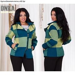 Куртка Веселая клетка (arrkareeta) Tags: одежда куртка jacket 21 clothing woman 2016 2012