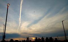 Good morning y'all! (Georgie_grrl) Tags: clouds beautifulnature downsviewsubwaystation morningcommute ttc toronto ontario sunrise light colour explore