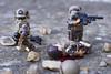 Man Down (LegoInTheWild) Tags: moc afol lego minifigure army military brickarms brickmania brickforge