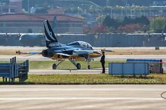 T50, Black Eagle team (Yunhyok Choi) Tags: adex adex2017 aircraft airforce airport airshow southkorea korea rokaf t50 ta50 blackeagle aerobatic airplane
