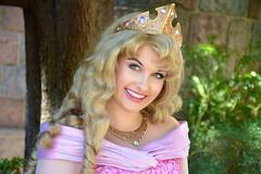 Princess Aurora (The Disney Marine) Tags: disneyland disney princess aurora sleeping beauty castle snow white wishing well