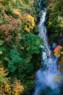 Fall landscape in Tohoku district