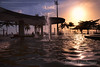 Pôr do Sol em Santos (Stefan Lambauer) Tags: pérgola boqueirão city people fonte fountain praia beach pôrdosol colors sun stefanlambauer 2017 brasil brazil santos sãopaulo br