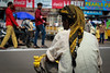 Street Banana (gaalvarezc) Tags: street streetphotography streetfood india unexpected banana color hyderabad people yellow canon fruit seller