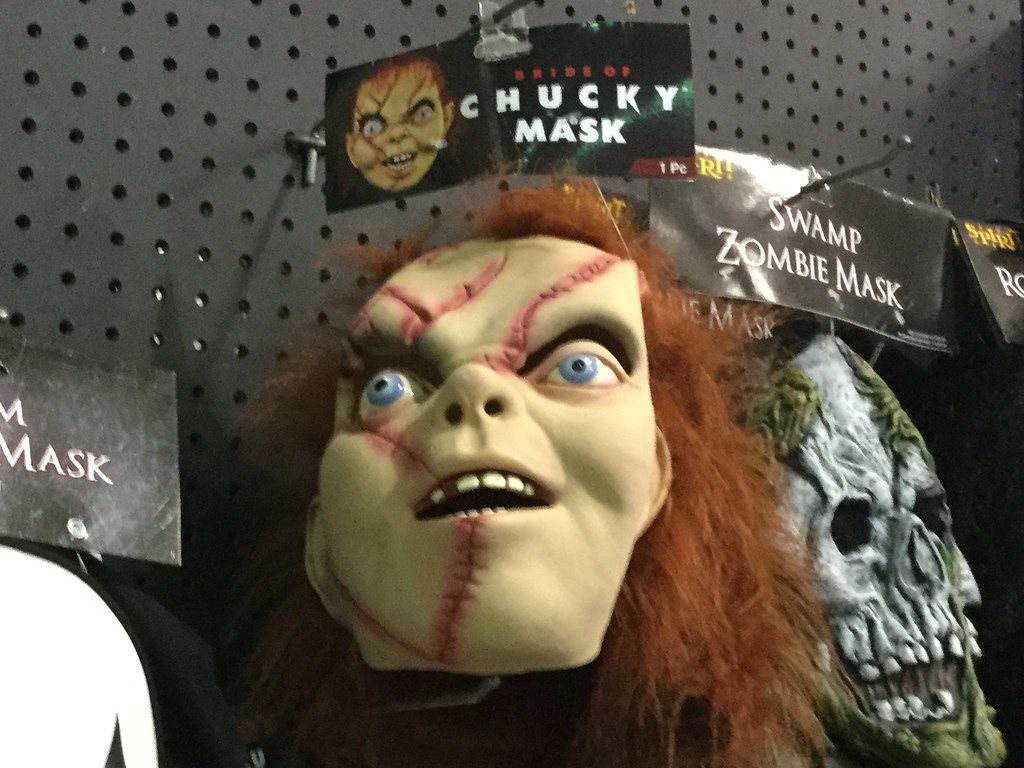 Bride Of Chucky Mask (splinky9000) Tags: Kingston Ontario Spirit Halloween  Costumes Decorations