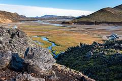 Tungnaá Delta (Matt McLean) Tags: boulder highlands iceland landmannalaugar landscape