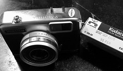 Instamatic Fun (Crawford Brian) Tags: kodak yashica ezmatic 126 fim instamatic kodacolor film expired color blackandwhite blackwhite monochrome camera 1976 analog bw