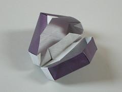 Hinged box N° 6 (Mélisande*) Tags: mélisande origami box