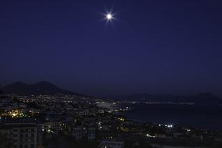 Napoli al chiaro di luna - Naples in moonlight