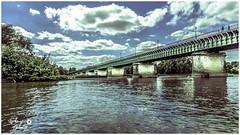 Pont canal de Briare (touflou) Tags: