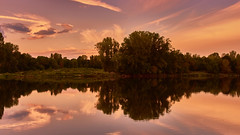 The river and its landscapes (flowerikka) Tags: afternoon atmosphäre autumn bäume france impressionen landscape lila loire magicallight mirror nature nikon pastell pink purple reflection river rosa sky sunrise trees valdeloire water weather