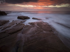 Red sky (Funktacula Fotography) Tags: australia anawesomeshot abigfave beach beautiful clouds colours colorphotoaward cloudporn coastline cloudsstormssunsetssunrises diamondclassphotographer dawn redsky outdoor explore em1markii flickrdiamond firstlight megashot longexposure landscape movement motion maroubra morning nsw naturesfinest ocean olympus outstandingshot rocks surf sunrise spring