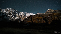 Blink Blink (Rkitichai) Tags: annapurna abc basecamp nature naturephotography nepal himalaya nightscene starrynight landscape landscapephotography travel travelphotography trekking hiking snow snowmountain night stars blink shine