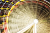 A Kaleidoscope of Colour (Amanda J Richards) Tags: ferriswheel circle round lightpainting paintingwithlight night longexposure