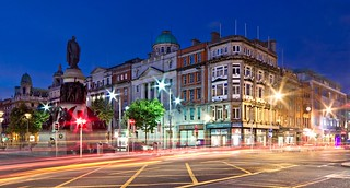O'Connell Street at Blue Hour