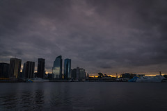 Sunset at the end (Mariano Colombotto) Tags: buenosaires argentina city ciudad cityscape atardecer skyline clouds water river buildings travel reflection dusk nikon photographer photography
