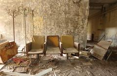 Pripyat Entertainment Centre (scrappy nw) Tags: abandoned scrappynw scrappy derelict decay forgotten canon canon750d urbex ue urbanexploration urbanexploring ukraine chernobyl chernobyldisaster pripyat entertainmentcentre theatre cinema