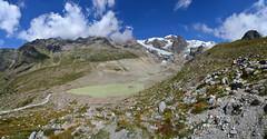 The retreating Lys Glacier (supersky77) Tags: lys valledellys gressoney aosta valledaosta vallèedaoste alps alpi alpes alpen lago lake lac glacier ghiacciaio moraine morena monterosa