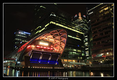 2017.10.07 Canary Wharf by night 12 (garyroustan) Tags: london londres uk angleterre united kingdom building architecture nuit night light color noche canary wharf