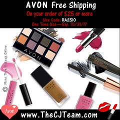 Avon Free Shipping October 2017 (cjteamonline) Tags: avon avoncouponcodes avonfreeshipping avonoctoberfreeshipping cjteam couponcodes finalday freeavon freeshipping goingfast lastday limitedquantities limitedtime octoberfreeshipping onetimeuse onlinepromotion orderavononline ordertoday promotion ra2510 sale thecjteam today whilesupplieslast