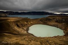Iceland 2017 - Askja Caldera (cesbai1) Tags: askja caldeira caldera viti crater cratère lake lac öskjuvatn geothermal geothermale is islande iceland islanda islandia volcano volcan landscape paysage highlands hautes terres 2017 a7rii sony